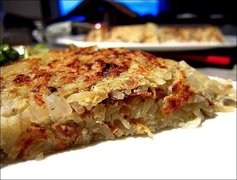 omelette pomme de terre recette