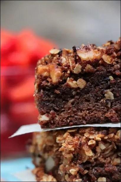 crumble cake praline