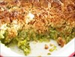 crumble de courgette parmesan
