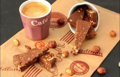 crunchy peanuts fingers chocolat nutella et dentelles