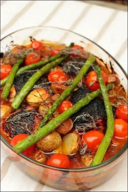recette cuisses poulet roti au four