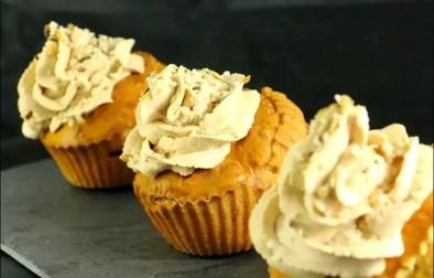 cupcakes aux pommes et foie gras