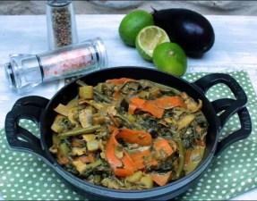 curry coco aux légumes