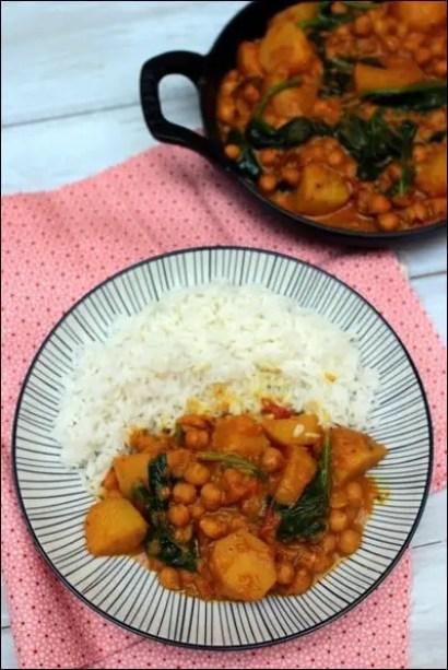 curry de pomme de terre