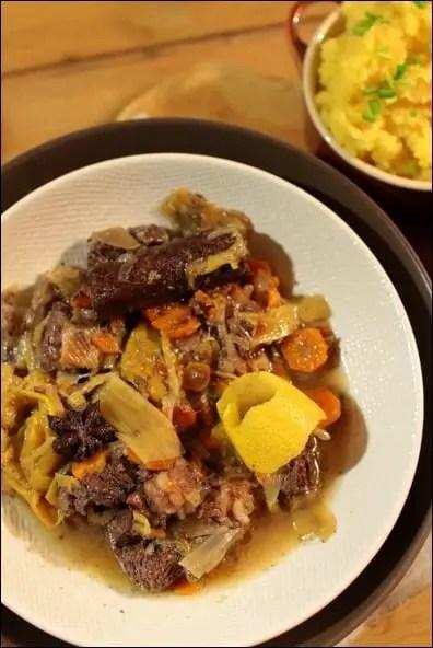 daube bœuf vin rouge épices citron orange
