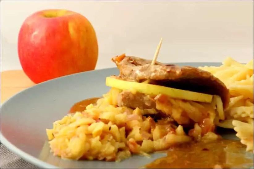 escalopes de veau aux pommes