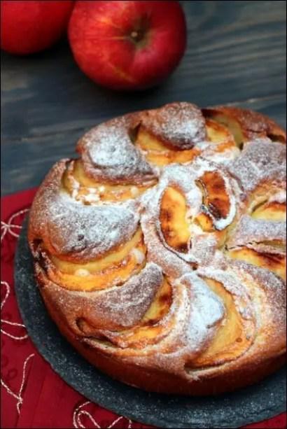 moelleux pomme mascarpone