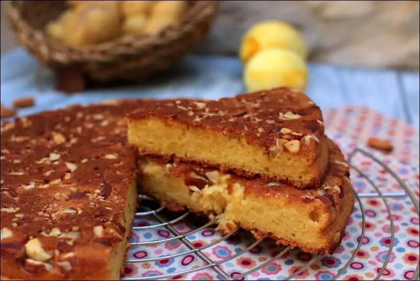 gâteau moelleux au citron amandes et pommes de terre