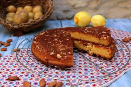gateau citron et amande healthy
