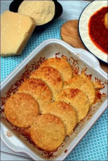 gnocchi de semoule au parmesan