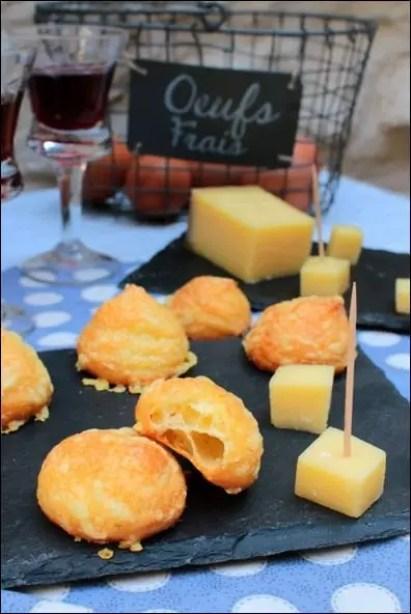 gougères au fromage bourgogne