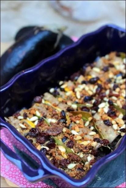 gratin aubergine farcie