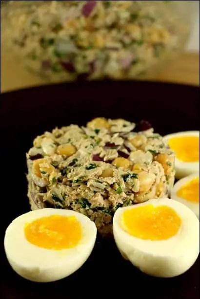 salade de thon pois chiches