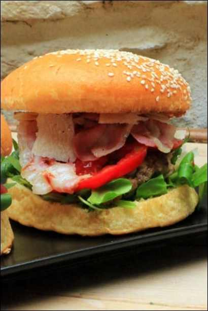 burger veau haché