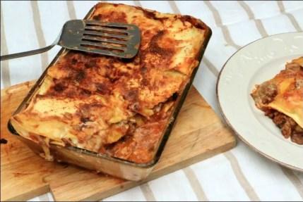 lasagnes de veau et champignons à la parmesane