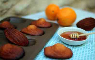 madeleines au miel de Cyril Lignac