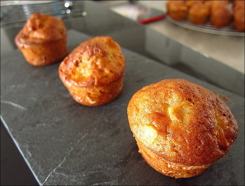 muffin pomme huile