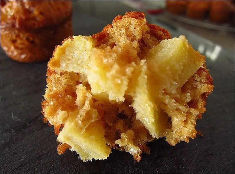 muffins pomme sans beurre