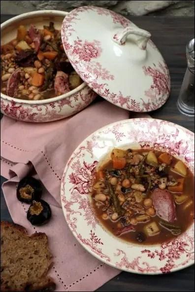 soupe espagnole potaje
