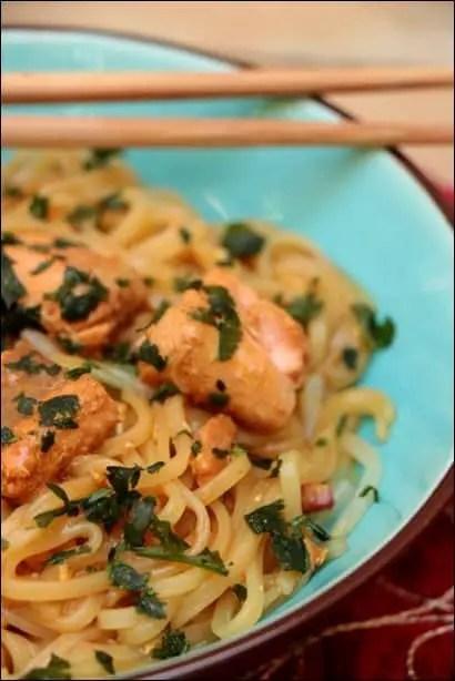pad thai saumon frais
