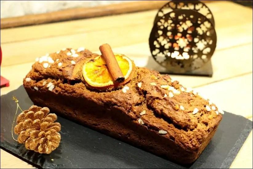pain d'épices moelleux au seigle miel et orange