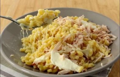 risotto de coquillettes jambon