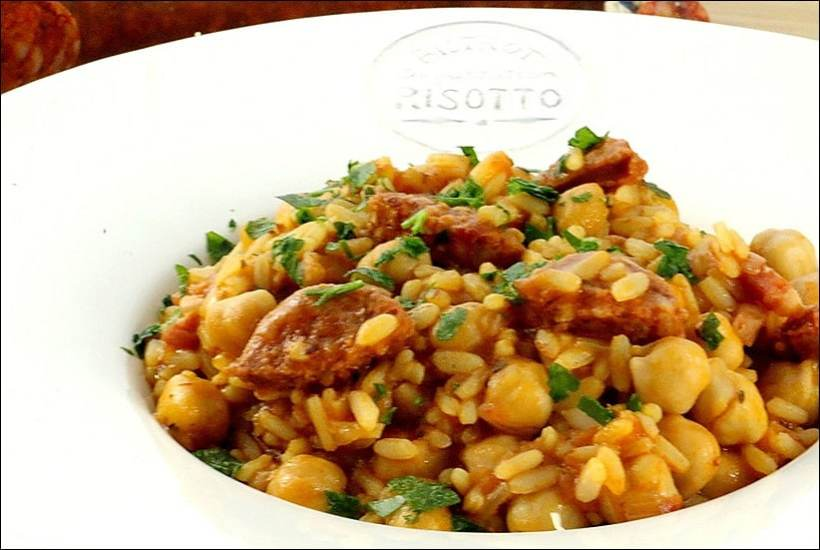 risotto pois chiches