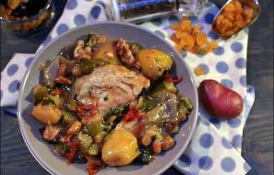 poulet aux fruits secs