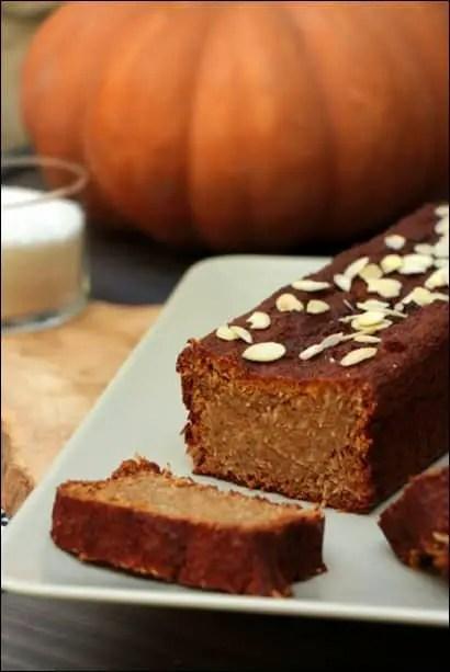 pumpkin cake noix de coco