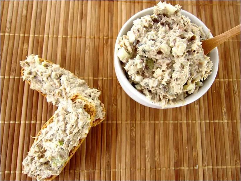 rillettes de sardines à la moutarde