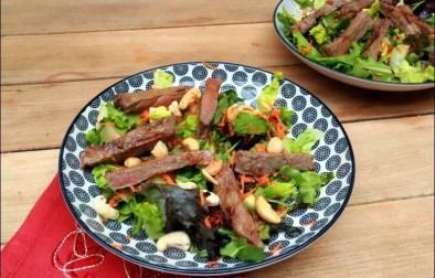 salade bœuf asiatique