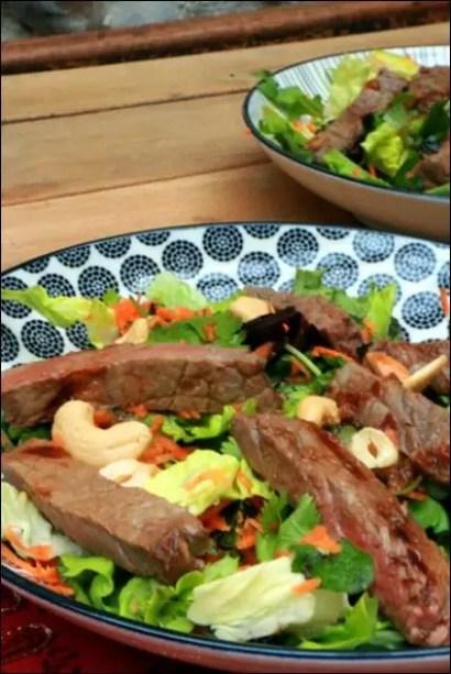 salade bœuf citronnelle