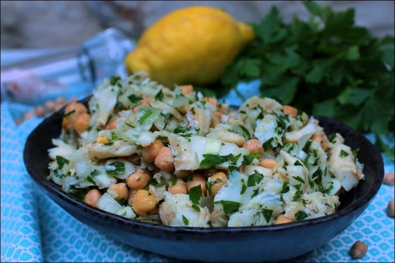 salade de morue froide