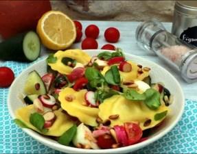salade croquante de ravioli