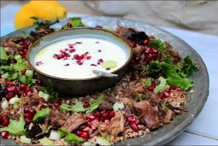 salade de sarrasin au confit de canard