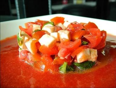 salade fraise tomate cerise