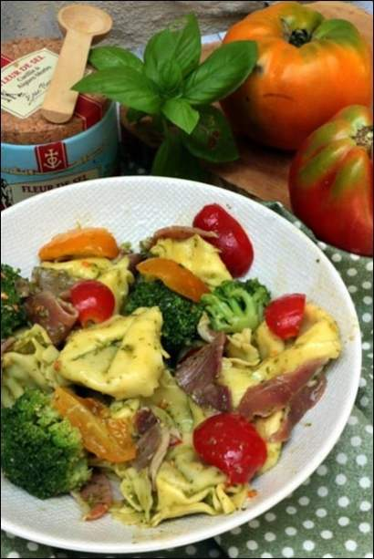salade tortellini froide