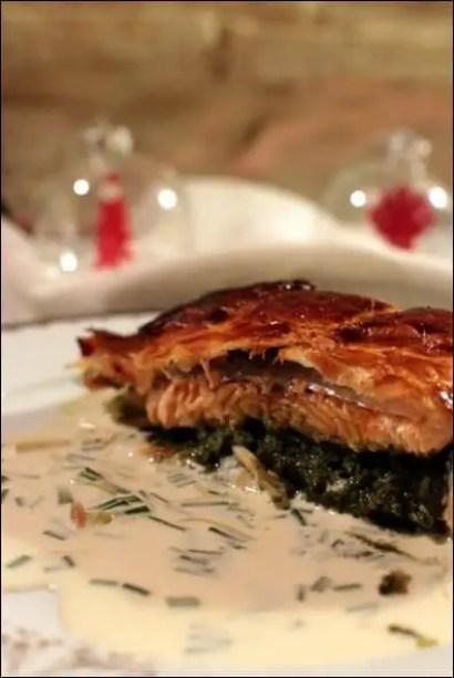saumon en croute