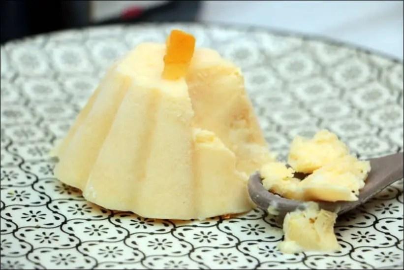 dessert glacé au cointreau
