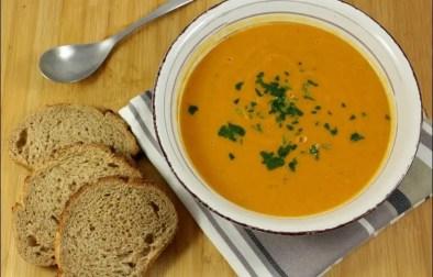 soupe de châtaignes et potiron