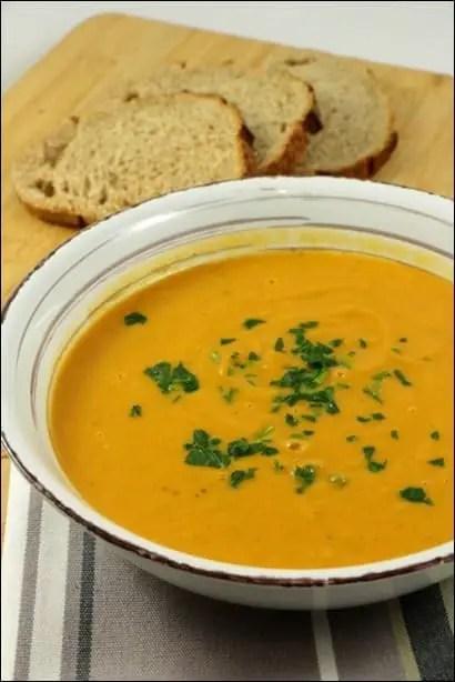 soupe chataigne courge