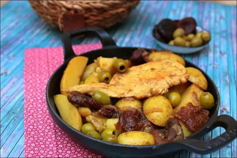 tajine dinde olives