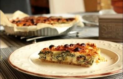 tarte aux blettes feta et noisettes