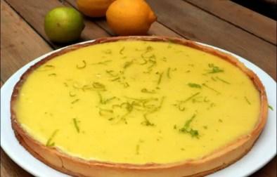 tarte citron jaune et vert