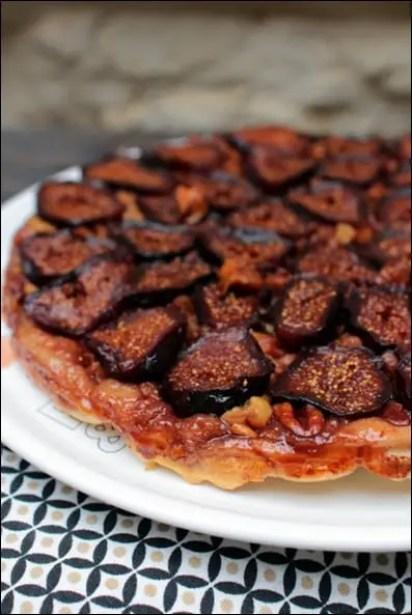 tarte tatin aux figues