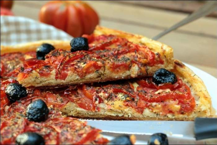 tarte tomate fromage