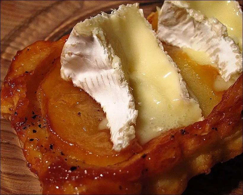 tarte tatin pomme camembert