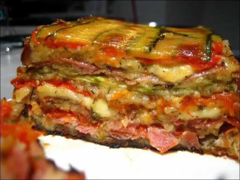terrine courgette jambon