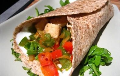 wraps poulet guacamole