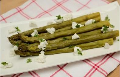 asperges chevre frais